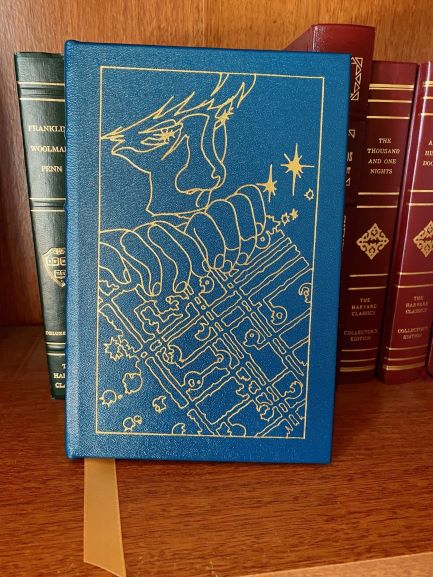 Easton Press Signed Copy of Enders Game